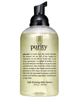 Philosophy Purity Made Simple High-Foaming Daily Cleanser