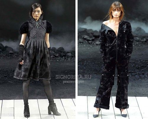 ...зима 2011 2012 fashion photo Chanel. moda-2012-chanel-осень-зима...