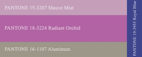 ������ ��������� ������ �����-���� 2014-2015, ����: ������� ������� (Radiant Orchid)