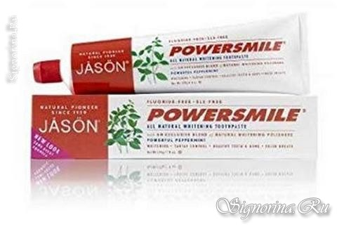 Jason Natural, PowerSmile без фтора